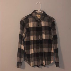 Men's Size Small Hollister Long Sleeve Button-down